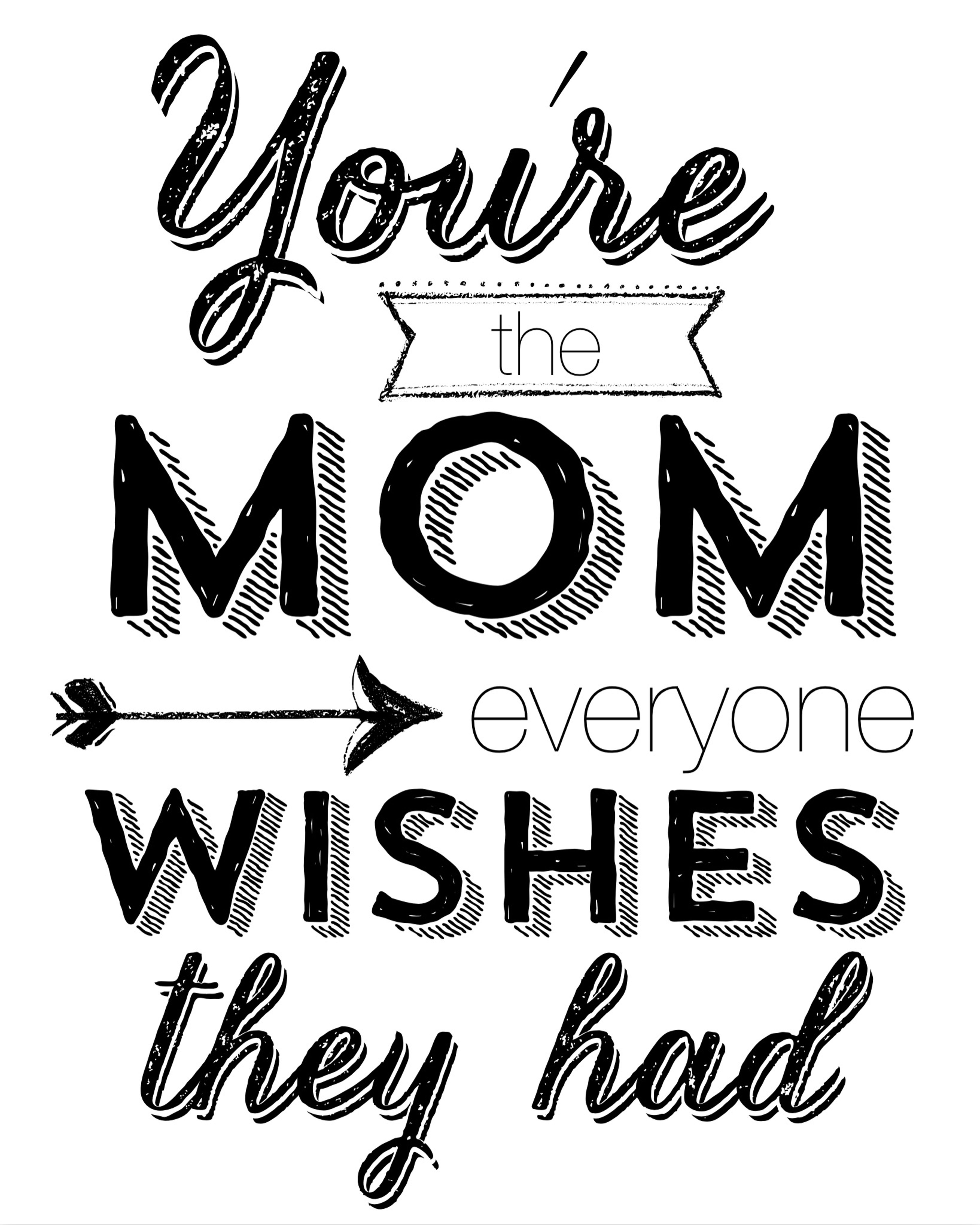 Mothers day quotes clipart picture free stock Free Mothers Day Printables   printable happy mothers day ... picture free stock