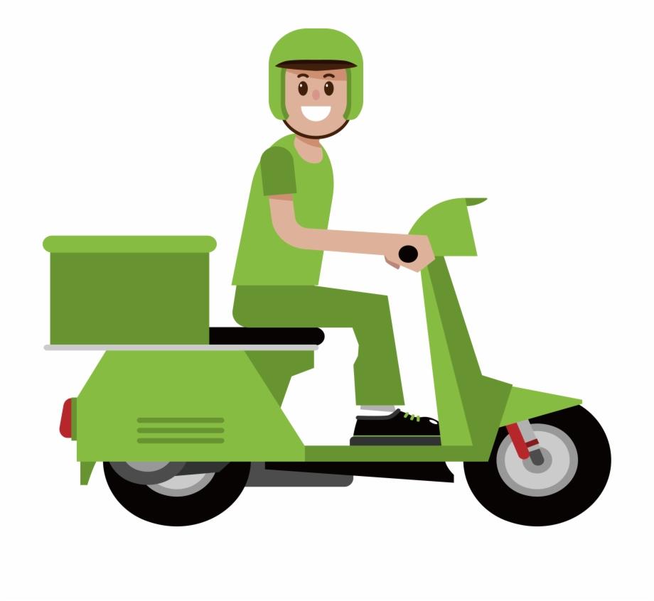 Moto delivery clipart banner transparent download Motorcycle Delivery Suzuki Burgman Nightingales Moto ... banner transparent download