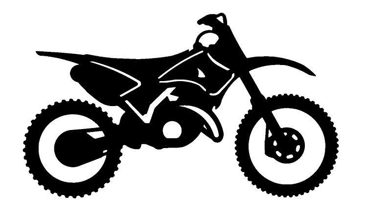 Motocross bike clipart vector free download View Dirt Bike Clipart | bikes | Dirt bike tattoo, Bike ... vector free download