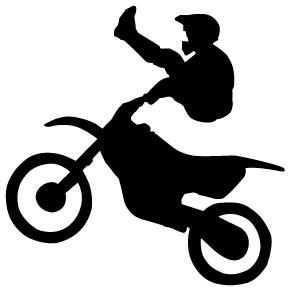 Motocross bike clipart clip art black and white 96+ Motocross Clipart   ClipartLook clip art black and white