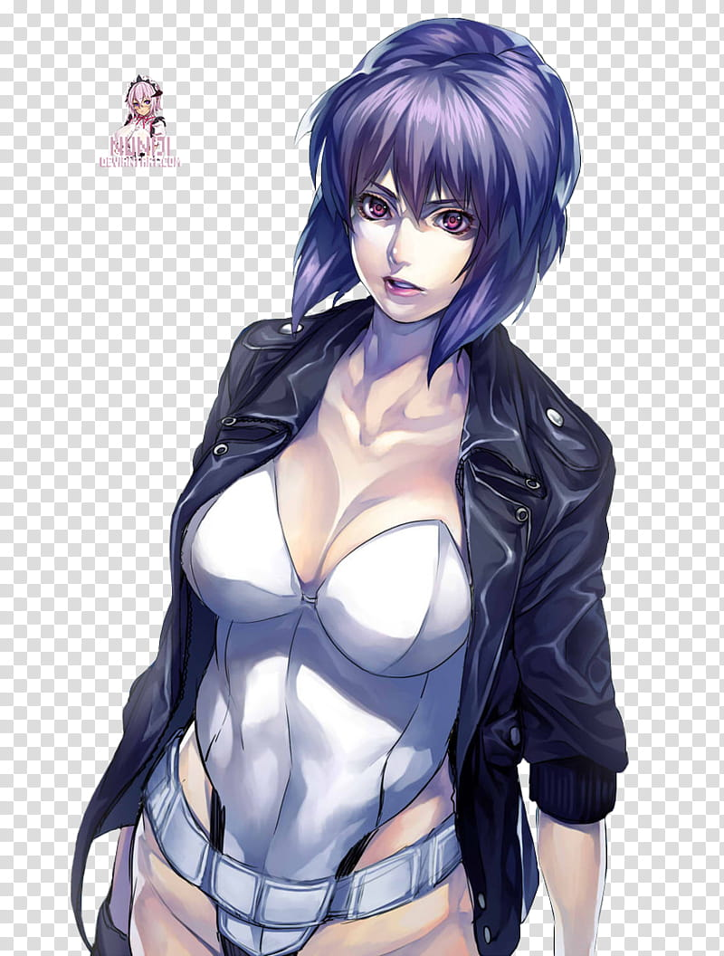 Motoko clipart vector royalty free library Motoko Kusanagi transparent background PNG clipart | HiClipart vector royalty free library