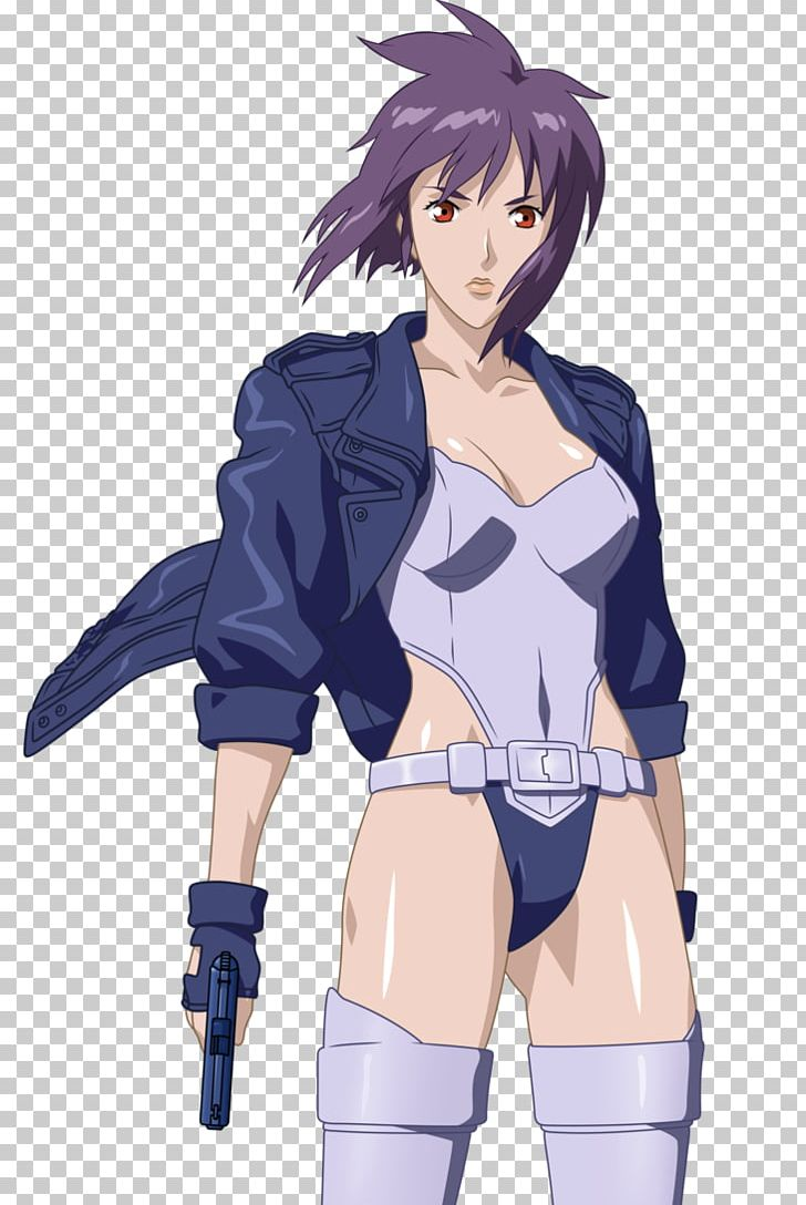 Motoko clipart jpg library Motoko Kusanagi Batou Ghost In The Shell Anime PNG, Clipart ... jpg library