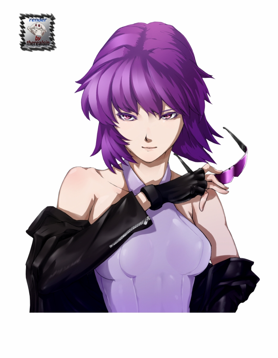 Motoko clipart clipart transparent download Cyborg Girl, Masamune Shirow, Motoko Kusanagi, Ghost Free ... clipart transparent download