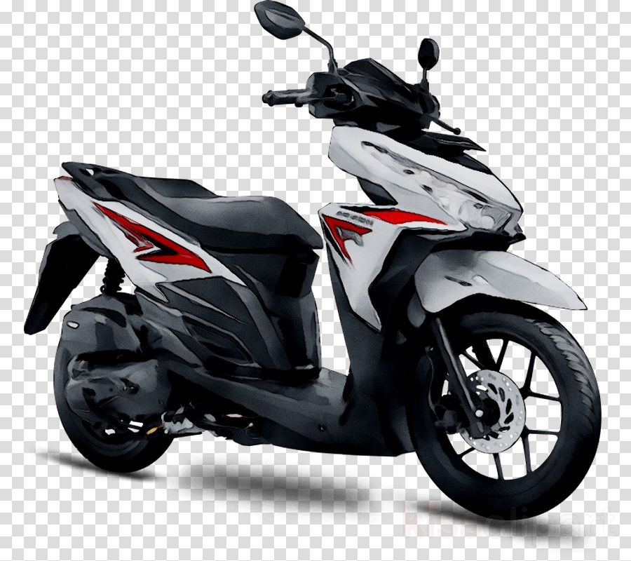 Motor honda clipart svg transparent stock Honda Beat clipart - Motorcycle, Scooter, Black, transparent ... svg transparent stock
