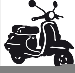Motor scooter clipart freeuse download Free Motor Scooter Clipart | Free Images at Clker.com ... freeuse download