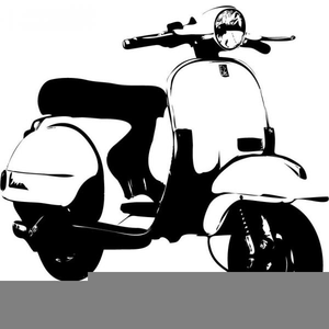 Motor scooter clipart graphic Free Motor Scooter Clipart | Free Images at Clker.com ... graphic