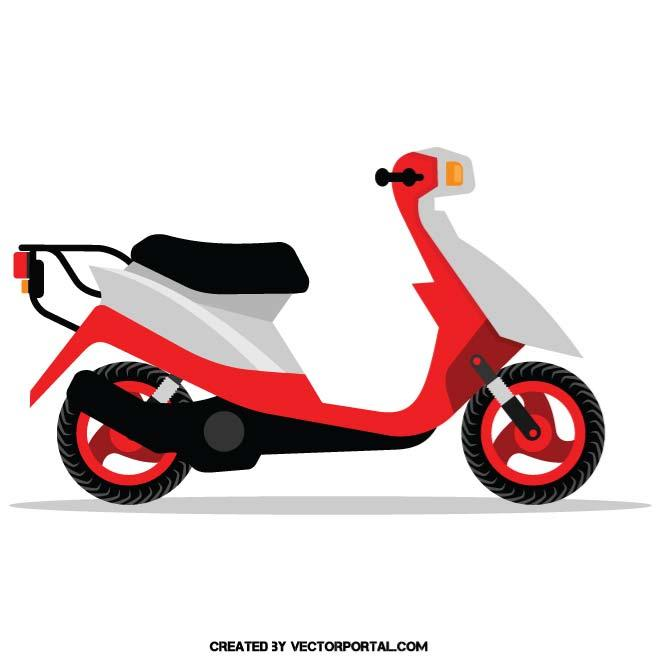 Motor scooter clipart png transparent stock MOTOR SCOOTER - Free vector image in AI and EPS format. png transparent stock