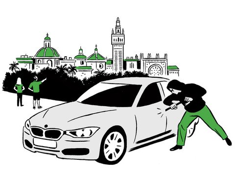 Motor vehicle theft clipart clip library download Your Rental Car Is Stolen Abroad: Now What? - Condé Nast ... clip library download