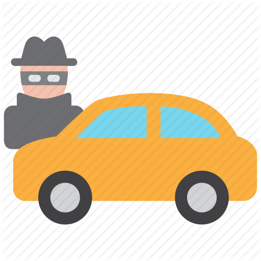 Motor vehicle theft clipart vector black and white stock Car Background clipart - Car, Yellow, Orange, transparent ... vector black and white stock