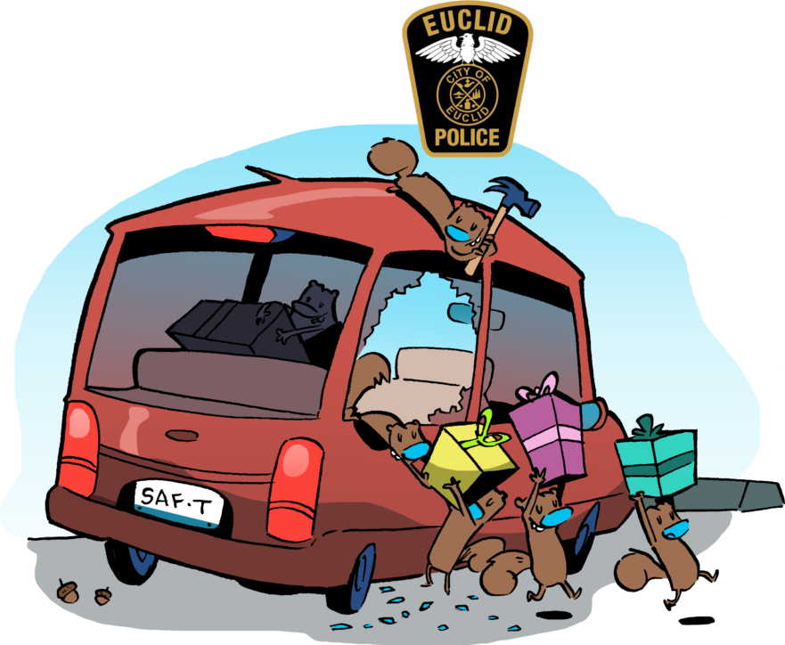 Motor vehicle theft clipart banner Theft from Auto – Euclid Police – 545 E 222nd St – 216-731-1234 banner