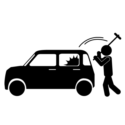 Motor vehicle theft clipart png library library Car Theft Clipart - Clip Art Library png library library