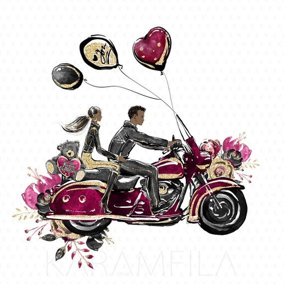 Motorcycle wedding clipart image transparent library Motorcycle wedding clipart 7 » Clipart Portal image transparent library