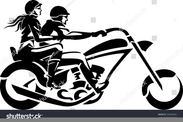 Motorcycle wedding clipart clipart royalty free stock Harley Davidson Wedding Clipart | Free Images at Clker.com ... clipart royalty free stock