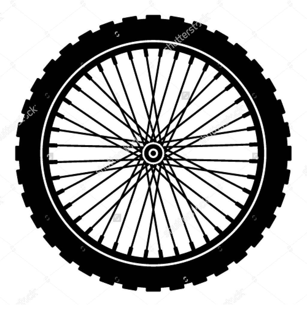 Motorcycle wheel clipart clip art library Motorcycle Wheel Clipart Biker Bicycle - Clipart1001 - Free ... clip art library