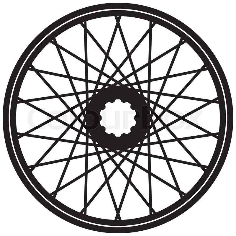 Motorcycle wheel clipart vector black and white Free Motorcycle Wheel Cliparts, Download Free Clip Art, Free ... vector black and white
