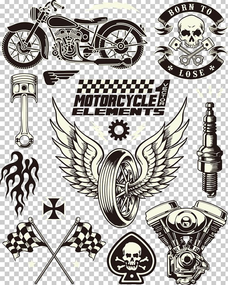 Motorcycle with wings clipart black and white jpg royalty free download Motorcycle Symbol PNG, Clipart, Angel Wing, Angel Wings ... jpg royalty free download