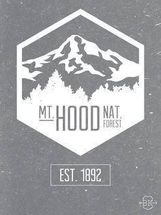 Mount hood clipart clip art free stock Outline of mt hood clipart | Graphics | Tattoo graphic ... clip art free stock