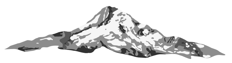 Mount hood clipart clipart library download Free Clipart: Mount hood dan gerhards 01 | Anonymous clipart library download