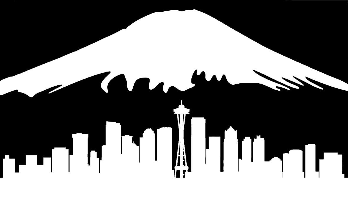 Mount rainier clipart png free download Image result for mt rainier silhouette | Woodworking Ideas ... png free download