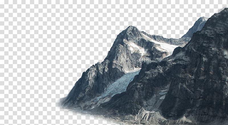 Mount wilhelm clipart picture freeuse download Grey mountain illustration, Sky Phenomenon Nunatak ... picture freeuse download