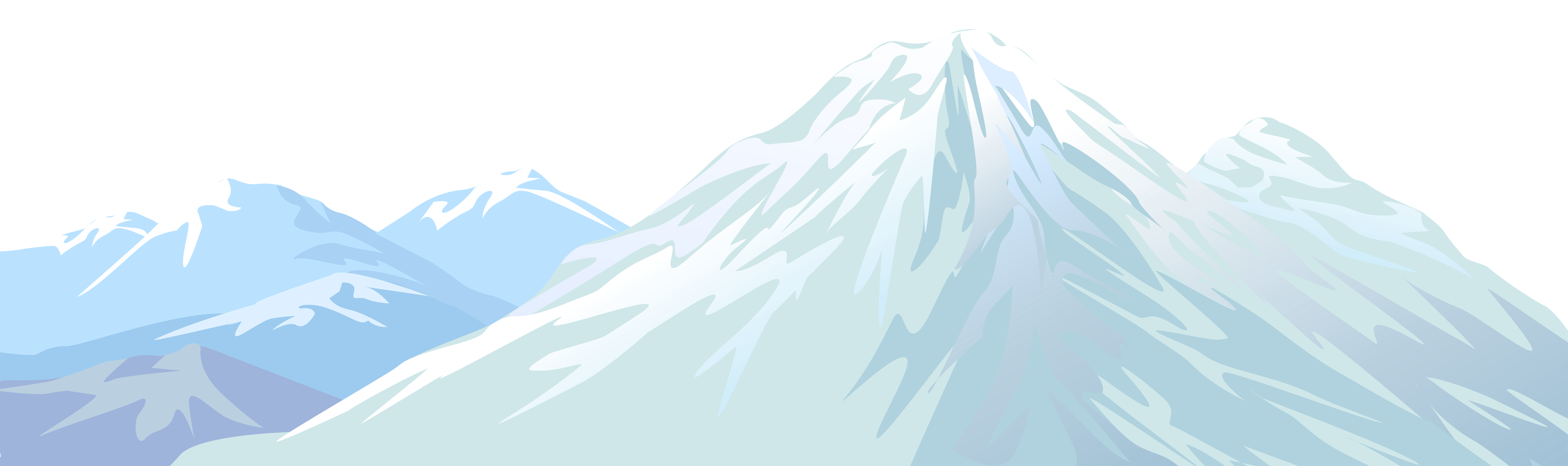 Mountain sun clipart banner library library Winter Snowy Mountain Transparent PNG Clip Art Image | Gallery ... banner library library