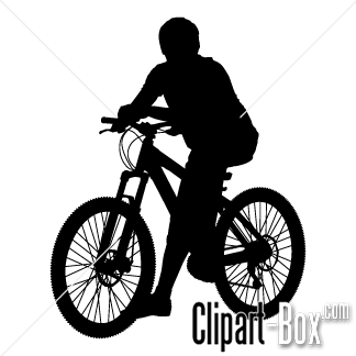 Mountain bike clipart silhouette jpg transparent library CLIPART MOUNTAIN BIKE | Mountain Bikes | Vector free, Vector ... jpg transparent library