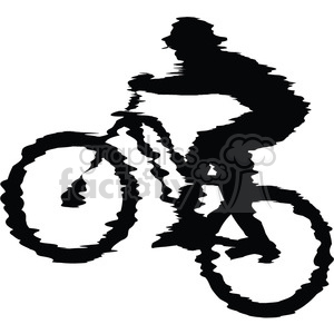 Mountain bike ride clipart black and white jpg free mountain-bike-rider clipart. Royalty-free clipart # 384562 jpg free