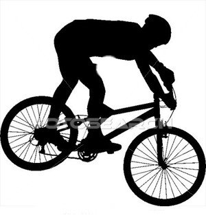 Mountain bike ride clipart black and white image freeuse stock Collection of Mountain bike clipart | Free download best ... image freeuse stock