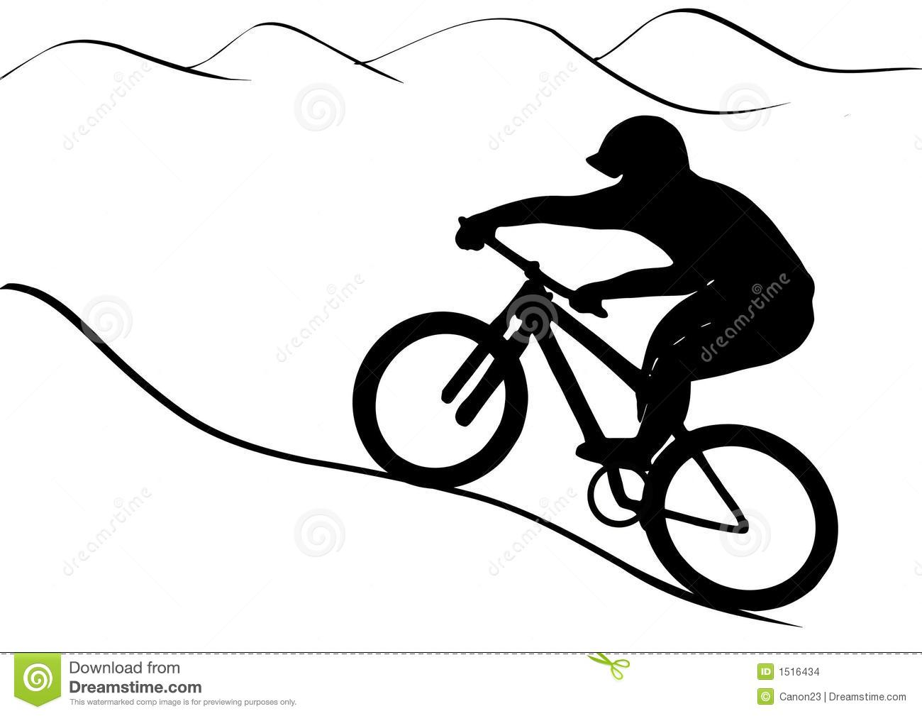Mountain bike ride clipart black and white clipart freeuse library Biking Clipart | Free download best Biking Clipart on ... clipart freeuse library