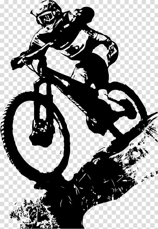 Mountain bike ride clipart black and white image black and white download Man riding BMX bike wearing helmet black and white ... image black and white download