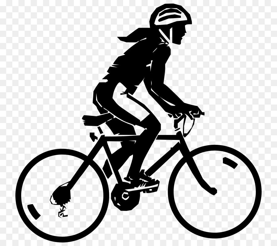 Mountain bike ride clipart black and white black and white Black And White Frame clipart - Bicycle, Cycling, Motorcycle ... black and white