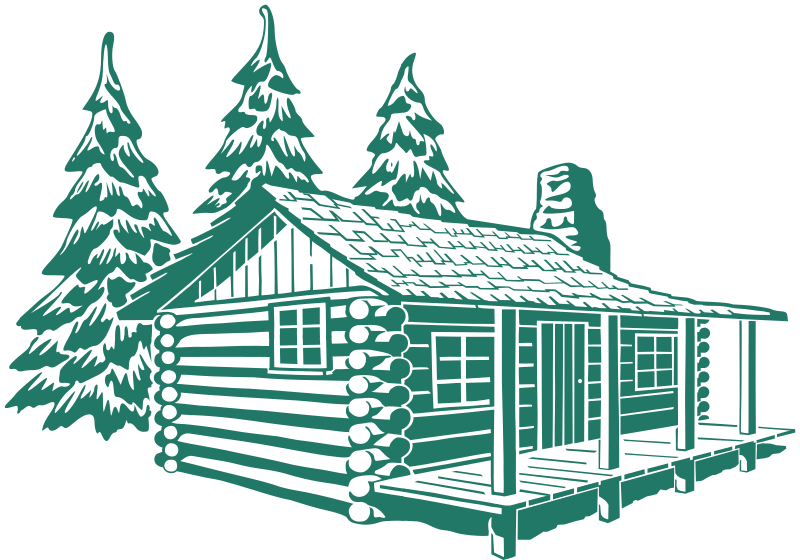 Mountain cabin clipart jpg library download Mountain Cabin Cliparts 8 - 800 X 560 - Making-The-Web.com jpg library download