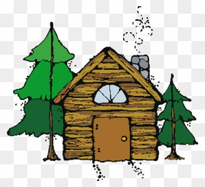 Mountain cabin clipart picture free stock Mountain Cabin Cliparts 6 - 300 X 273 - Making-The-Web.com picture free stock