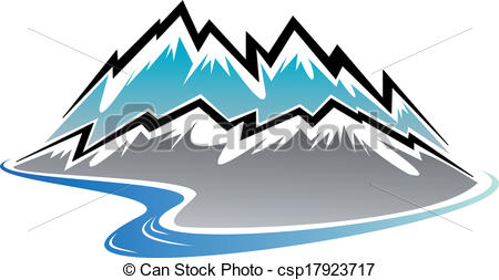 Mountain River Clipart | Clipart Panda - Free Clipart Images clipart black and white stock