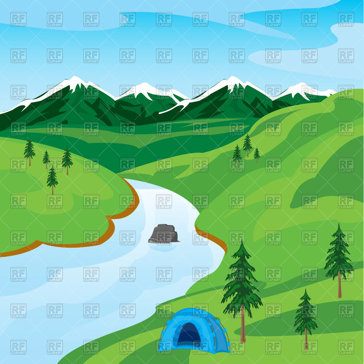 Clipart River & River Clip Art Images - ClipartALL.com image freeuse