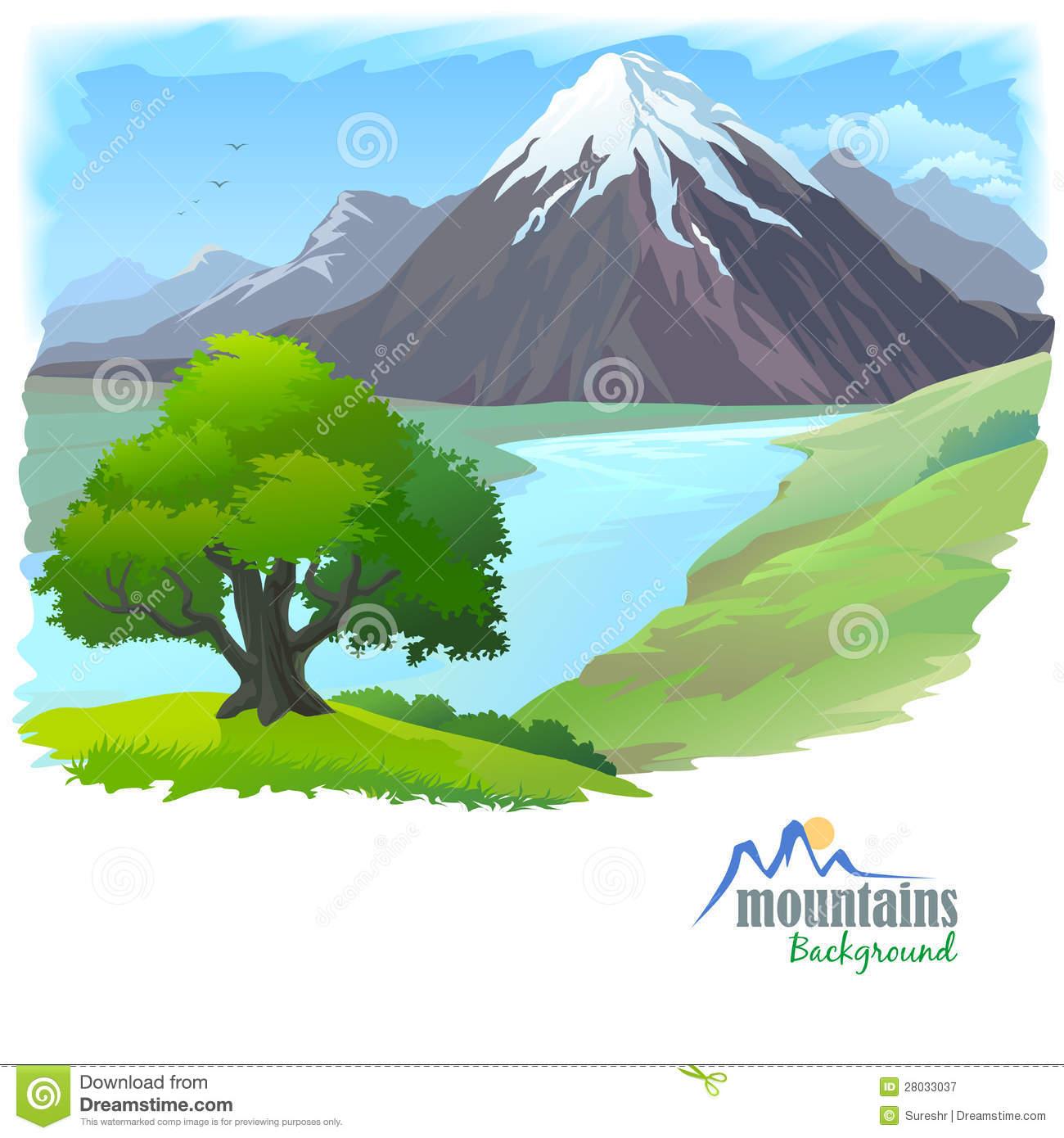 Mountain river clipart - ClipartFest clipart freeuse