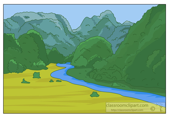 Mountain River Clipart - Clipart Kid image freeuse stock