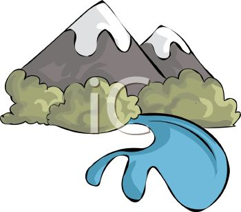Mountain River Clipart | Clipart Panda - Free Clipart Images png black and white library