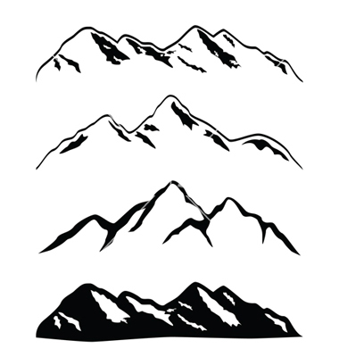 Mountain silhouette clipart free clip art free library 77+ Mountain Silhouette Clip Art | ClipartLook clip art free library