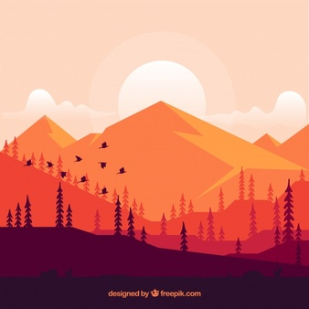Mountain vector clipart free Mountain Vectors, Photos and PSD files | Free Download free