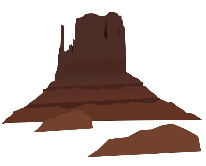 Mountain with cross clipart image library library Desert Mountain Clipart image library library