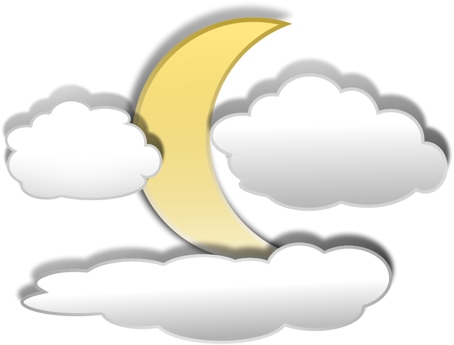 Mountains sun and cloud clipart banner library Full Moon With Clouds Clipart   Stickers   Pinterest   Moon, Cloud ... banner library