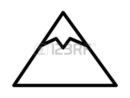 Mountian peake clipart black and white outline picture free stock Mountain Peak Clipart | Free download best Mountain Peak ... picture free stock