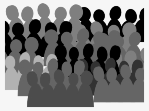 Mourningcrowd clipart