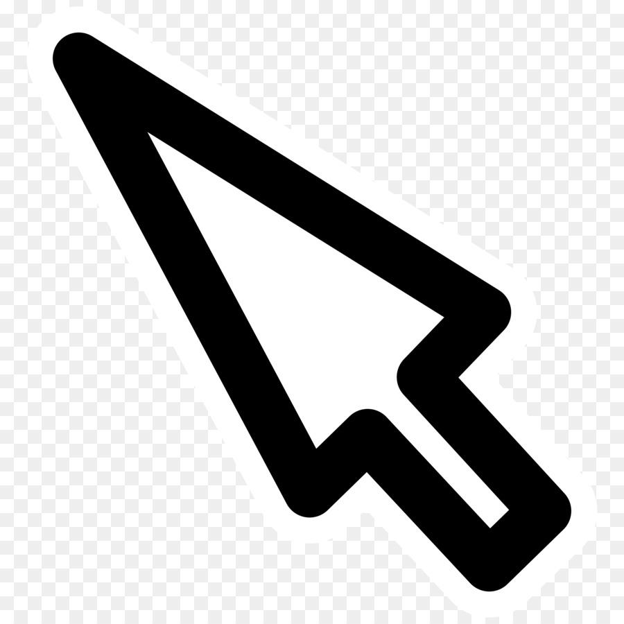 Mouse cursor clipart svg download White Arrow Background clipart - Computer, Arrow, Text ... svg download
