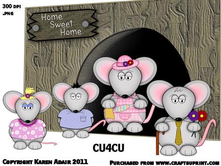 Mouse family clipart image library download The Mouse Family Clipart image library download