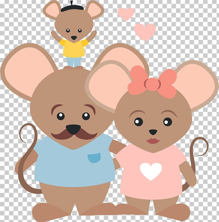 Mouse family clipart banner library stock Computer Mouse Family Euclidean PNG, Clipart, Animal ... banner library stock