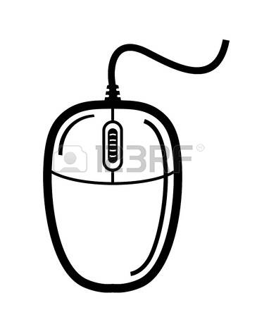 Mouse in computer clipart image free library 36,700 Computer Mouse Stock Vector Illustration And Royalty Free ... image free library