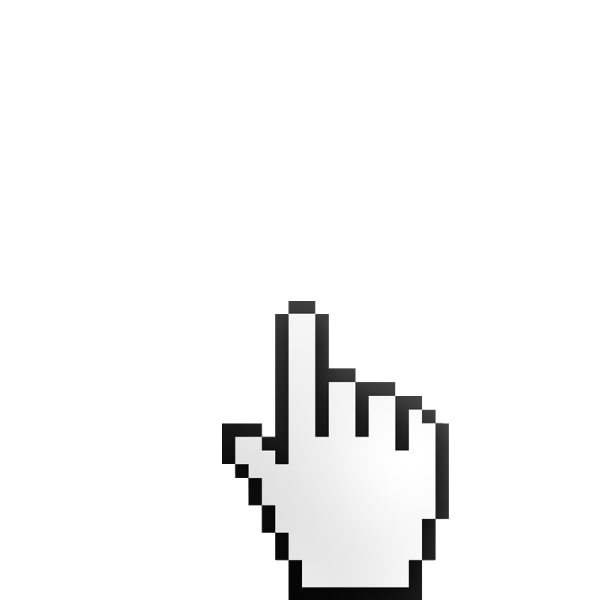 Mouse pointer clipart no background black and white download Hand Mouse Pointer - ClipArt Best black and white download