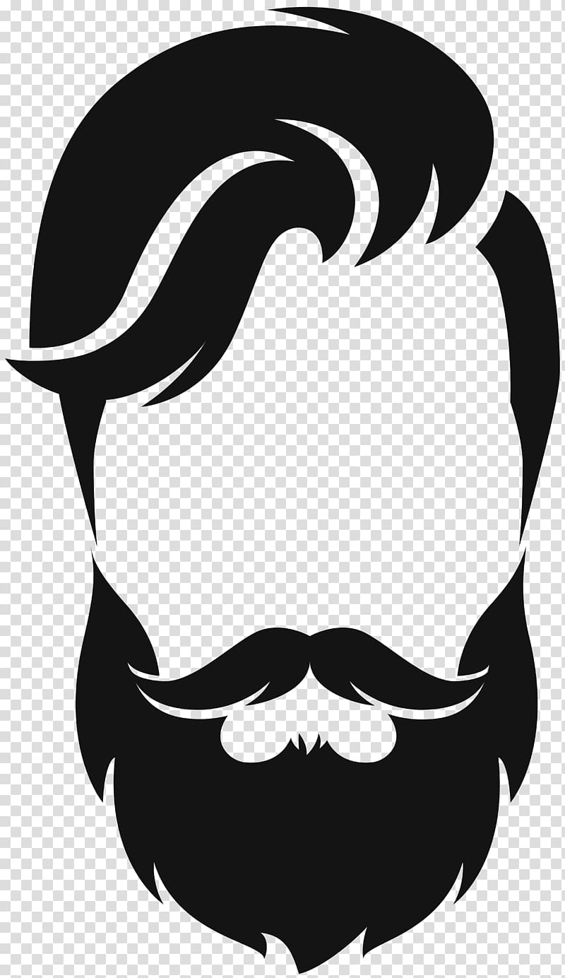 Moustache styles clipart clip free library Silhouette Beard Moustache , hair style, beard and hair ... clip free library
